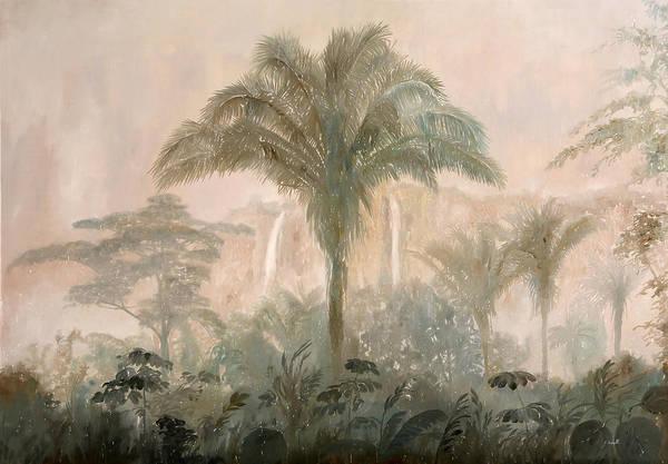 Jungle Painting - Nebbia Nella Jungla by Guido Borelli