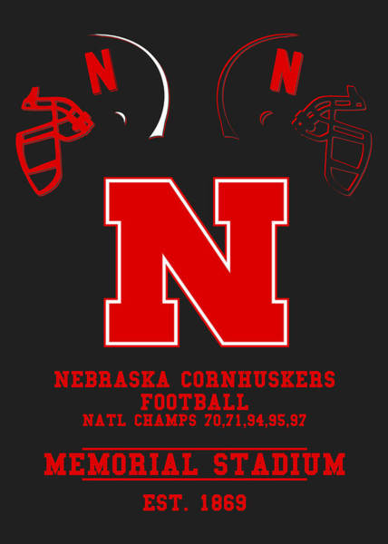 Nebraska Photograph - Nebraska Cornhuskers 2 by Joe Hamilton