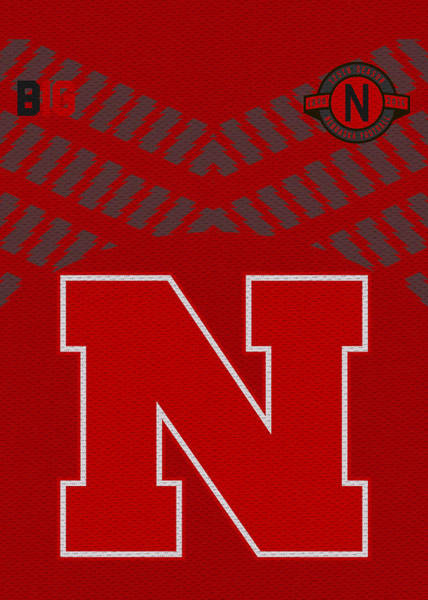 Nebraska Photograph - Nebraska Cornhuskers Uniform 2 by Joe Hamilton