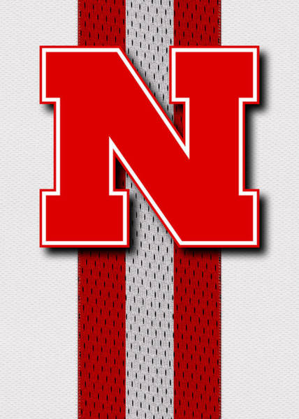 Nebraska Photograph - Nebraska Cornhuskers Uniform 4 by Joe Hamilton