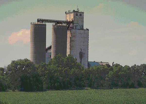 Photograph - Nebraska Farm Life - Feed Mill by Colleen Cornelius