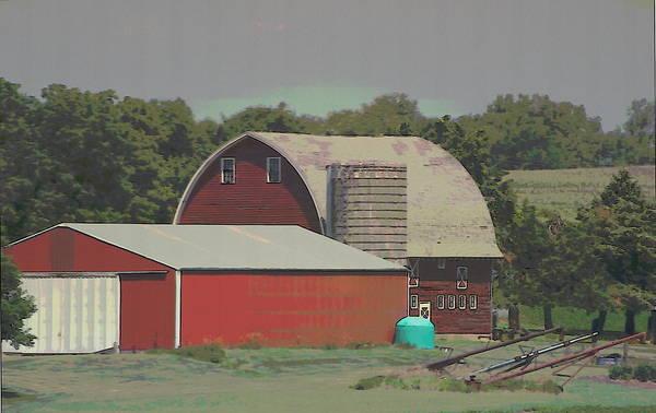 Photograph - Nebraska Farm Life - The Family Farm by Colleen Cornelius