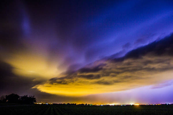 Tormenta Wall Art - Photograph - Nebraska Night Beast 021 by NebraskaSC