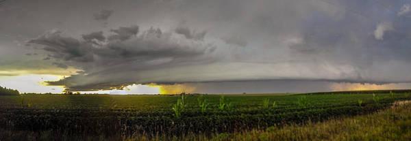 Photograph - Nebraska Supercell, Arcus, Shelf Cloud, Remastered 003 by NebraskaSC