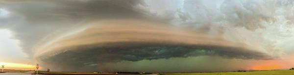 Photograph - Nebraska Thunderstorm Eye Candy 020 by NebraskaSC