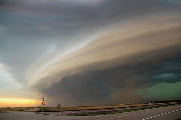 Tormenta Wall Art - Photograph - Nebraska Thunderstorm Eye Candy 026 by NebraskaSC