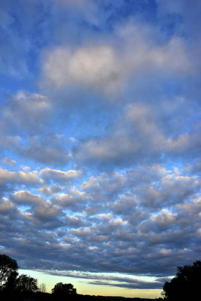 Photograph - Nebraskan Altocumulus Clouds by Ray Mathis