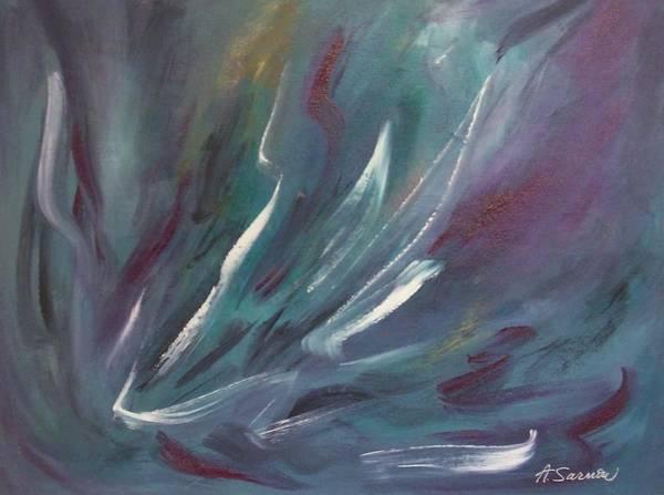 Painting - Nebula by Anita Burgermeister