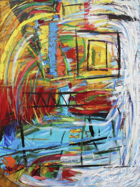 Acrilic Painting - Nebula IIi by Aldo Carhuancho herrera