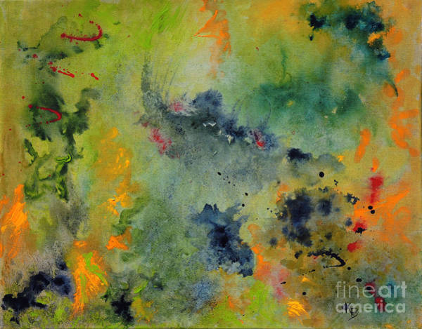 Painting - Nebula by Karen Fleschler