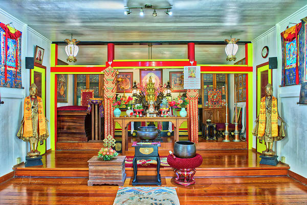 Photograph - Nechung Dorje Drayang Ling 1 by Jim Thompson