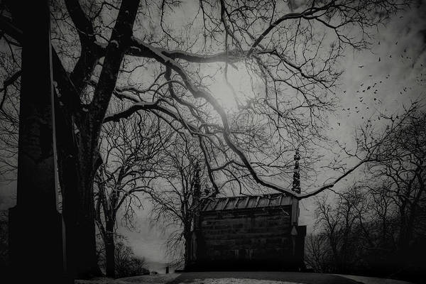 Digital Art - Necropolis Nine by Chris Lord