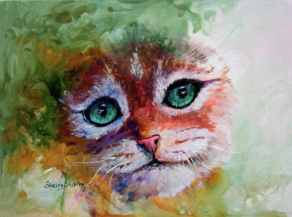 Painting - Need A Hug by Sherry Shipley