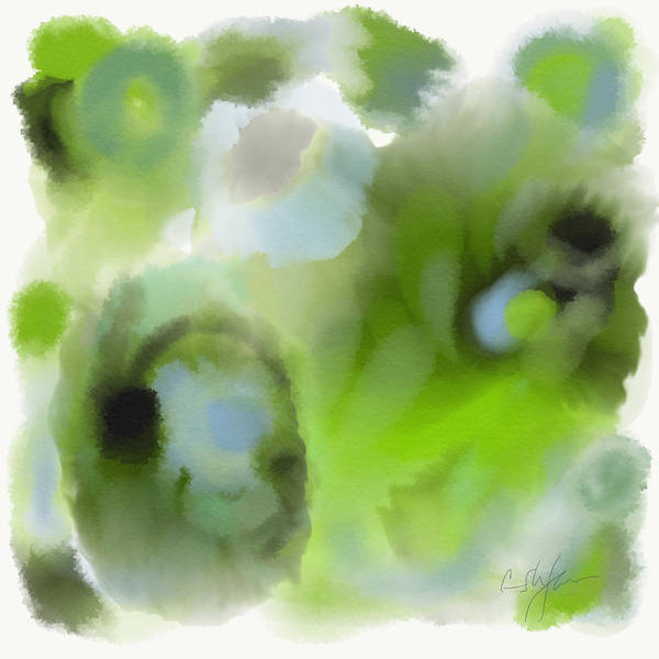 Digital Art - Need Of Green  by Cristina Stefan