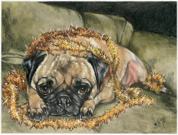 Purebred Mixed Media - I Try  by Barbara Keith