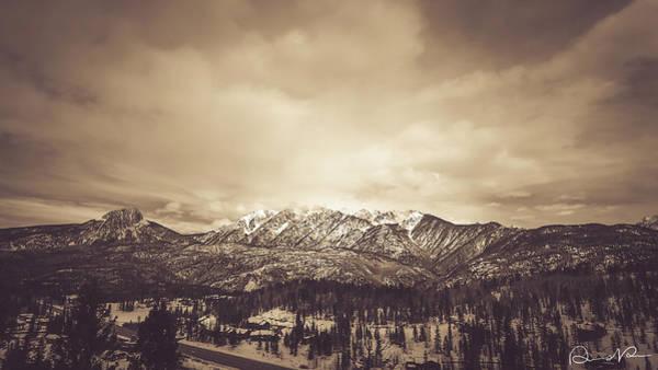 Photograph - West Needle Mountain Nostalgic by Dennis Dempsie