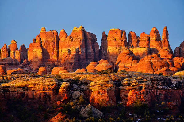Photograph - Needles Dawn by Greg Norrell