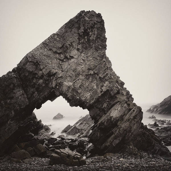 Wall Art - Photograph - Needle's Eye Rock by Dave Bowman