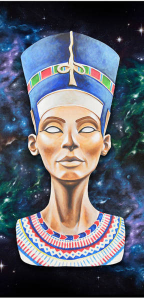 Egypt Digital Art - Nefertiti by Canvas Cultures