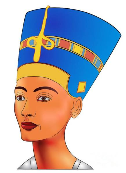 Wall Art - Digital Art - Nefertiti - Queen Of Ancient Egypt by Michal Boubin