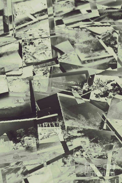 Postcard Photograph - Negative Film Photo Background by Jorgo Photography - Wall Art Gallery