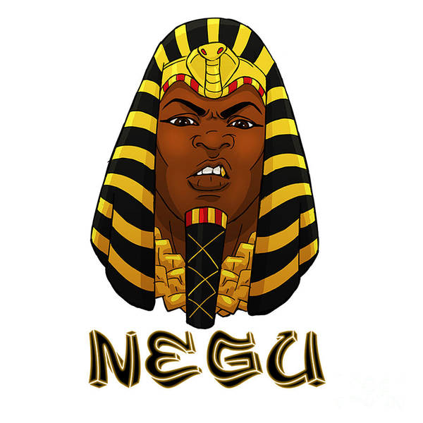 Wall Art - Digital Art - Negu by Respect the Queen