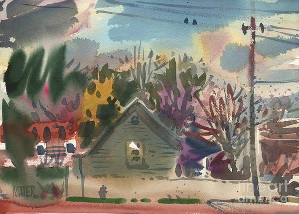 Neighborhood Painting - Neighborhood 3 by Donald Maier