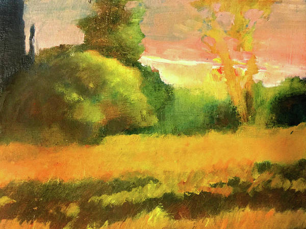 Port Townsend Painting - Neighbor's Field by James Murphy