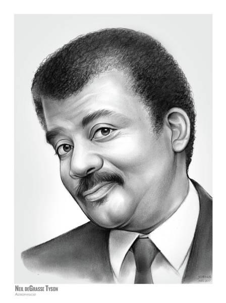 Authors Drawing -   Neil Degrasse Tyson by Greg Joens