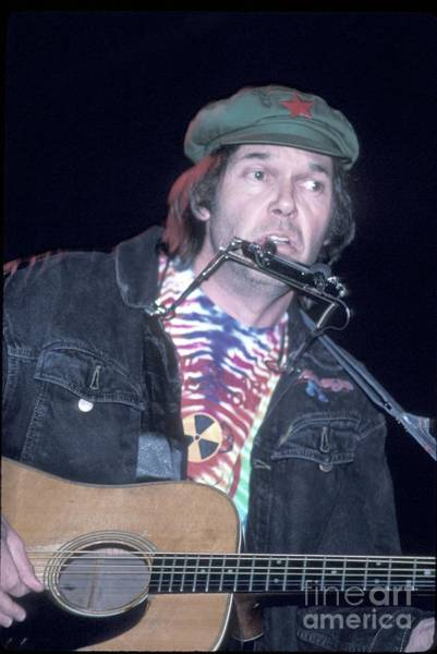 Neil Young Photograph - Neil Young by Concert Photos