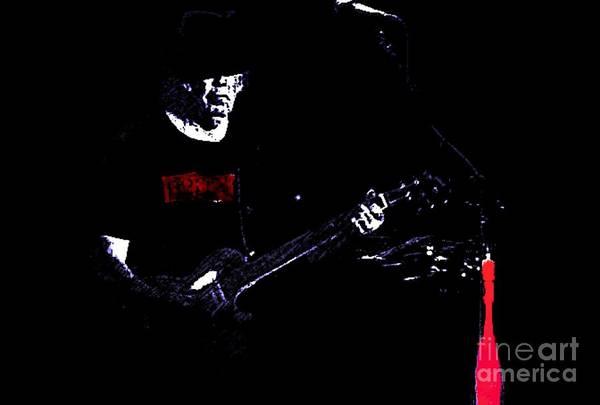 Photograph - Neil Young by John  Kolenberg