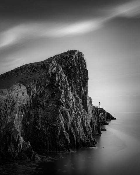 Photograph - Neist Point Lighthouse by Dave Bowman