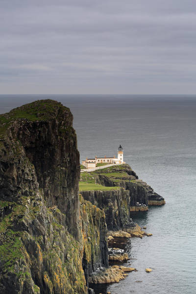 Photograph - Neist Point Lighthouse by Maria Gaellman