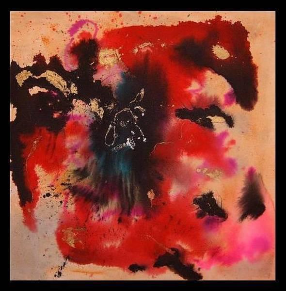 Crazy Mountains Painting - Neko To Hitsuji by Alexander Snehotta von Kimratshofen