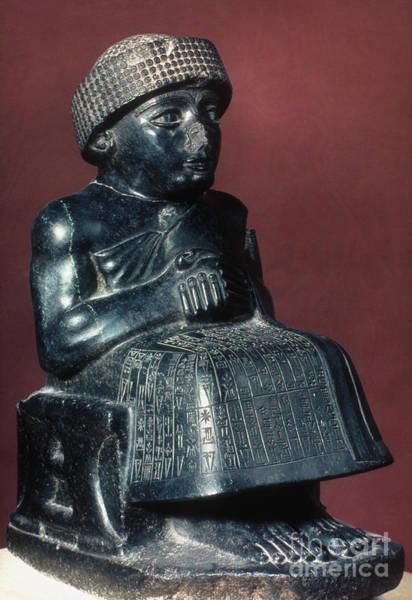 Photograph - Neo-sumerian Prince Gudea by Granger