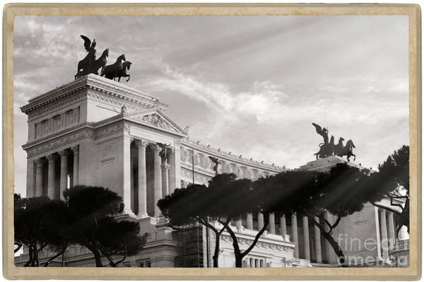 Wall Art - Photograph - Neoclassical Architecture In Rome by Stefano Senise