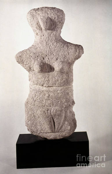 Photograph - Neolithic Figure by Granger