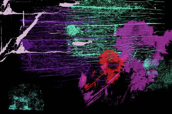Digital Art - Neon Abstract 9 by Jenny Rainbow