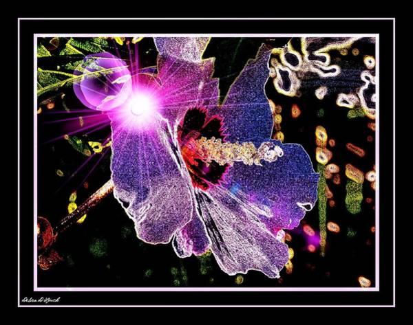 Neon Lights Mixed Media - Neon Lights by Debra Lynch