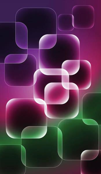 Digital Art - Neon by Marina Usmanskaya