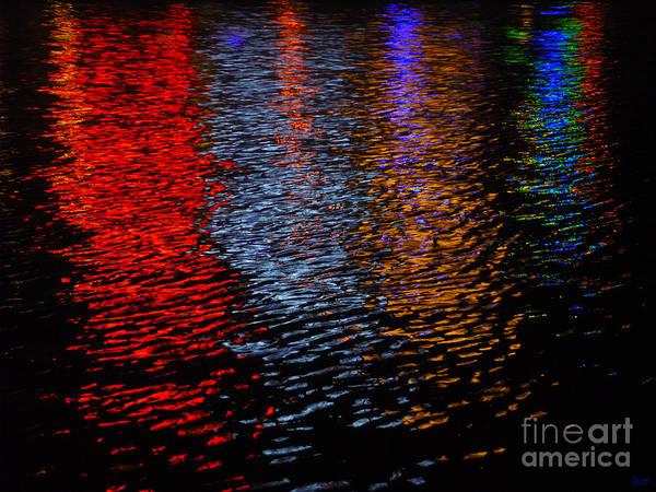 Photograph - Neon Nites by Jeff Breiman