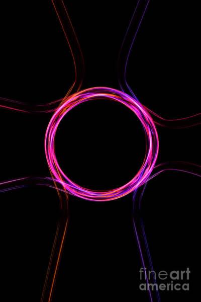 Photograph - Neon Pattern 001 by Clayton Bastiani