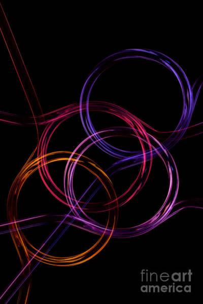 Photograph - Neon Pattern 002 by Clayton Bastiani