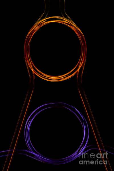 Photograph - Neon Pattern 003 by Clayton Bastiani
