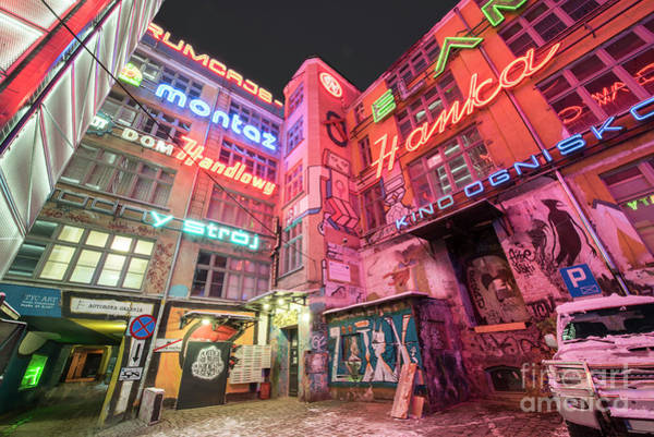 Wall Art - Photograph - Neon Side, Wroclaw by Juli Scalzi