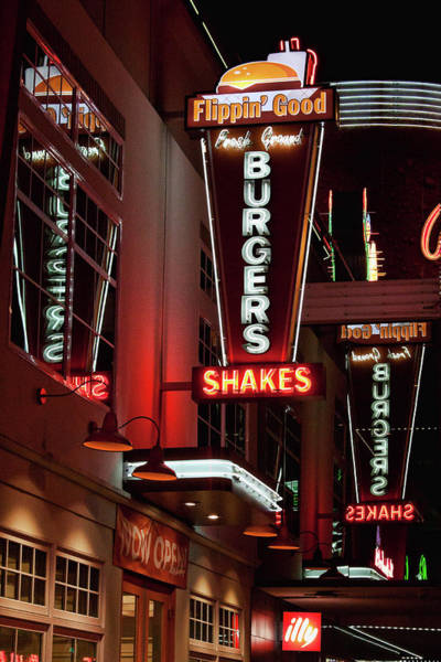 Photograph - Neon Signs Las Vegas by Tatiana Travelways