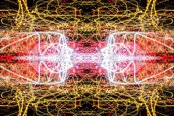 Photograph - Neon Winter Of Sorrow by John Williams