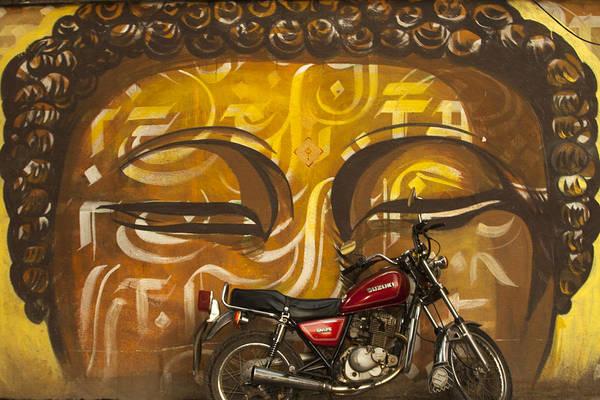 Photograph - Nepal Buddha by Jed Holtzman
