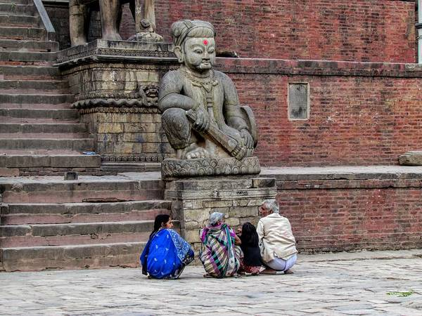 Photograph - Nepal by Duncan Davies