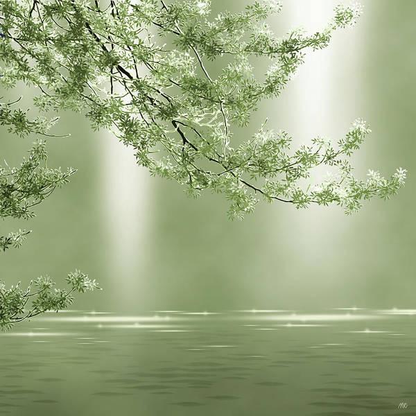 Olive Branch Digital Art - Nephrite by Moira Risen